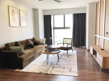 corner apartment for rent in midtown phu my hung with 2 large open view