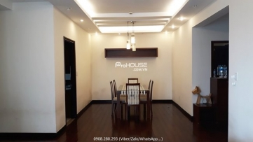 high floor apartment for rent in green view with 3 bedrooms nice and quiet view